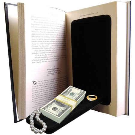 Streetwise Fake Large Hardbound Diversion Book Gun Safe Secret CompartmentInside storage space measures 6.5� x 3.5� x 1� ; The exterior.., By Streetwise Security Products