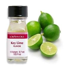 Lorann Oils Lime 1 Dram Super Strength Flavor Extract Candy Baking Includes 1 Dram Dropper And Recipe Card