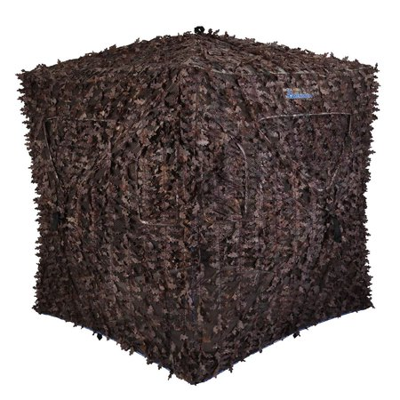 Ameristep Stand Hunting Blinds - Ameristep Arcane Portable Enclosed Ground Deer Hunting Blind Box Stand Shack
