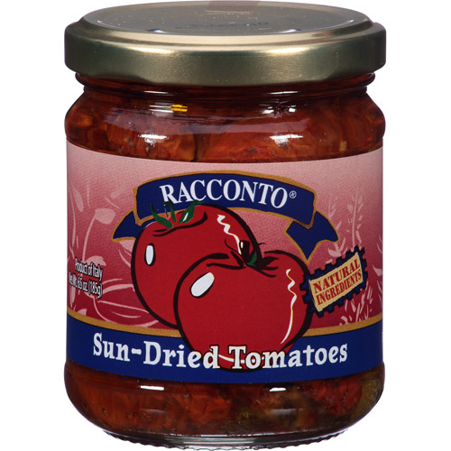 Racconto Sun-Dried Tomatoes, 6.5 oz, (Pack of 6)