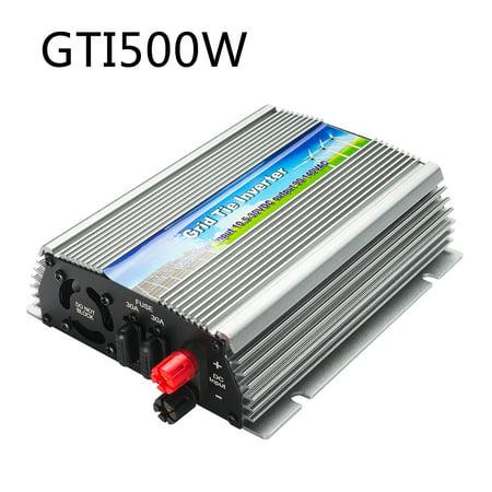 us gti 500w grid tie inverter mppt for solar panel stackable pure sine wave  - walmart com