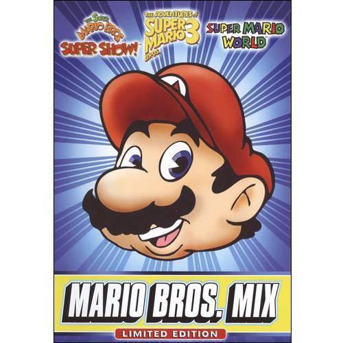 Super Mario Brothers: Mega Mario Mix DVD
