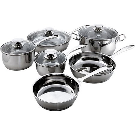 Berndes Cucinare Induction 10-Piece Cookware Set