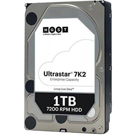 HGST 1W10001 3.5 in. 1000 GB SATA, 128 MB 7200 RPM 512N Internal Hard Drive
