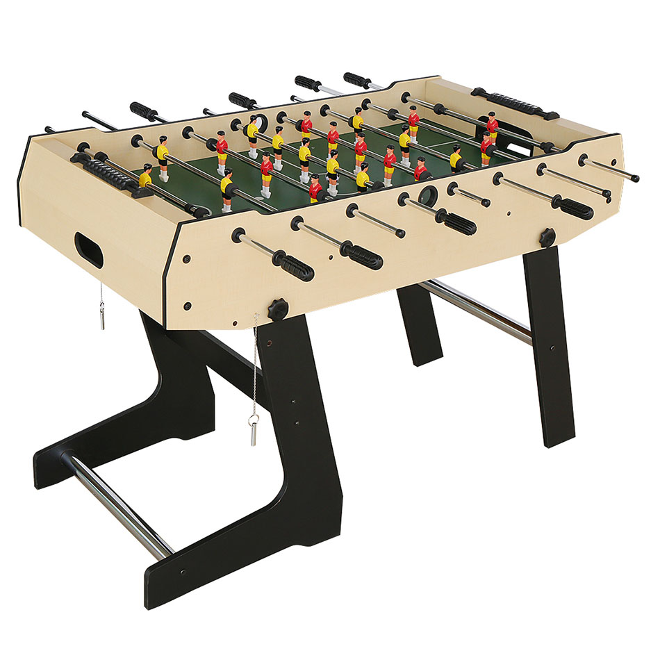4FT Sport Foosball Table Soccer Table for Family Use Game Room by AHHC
