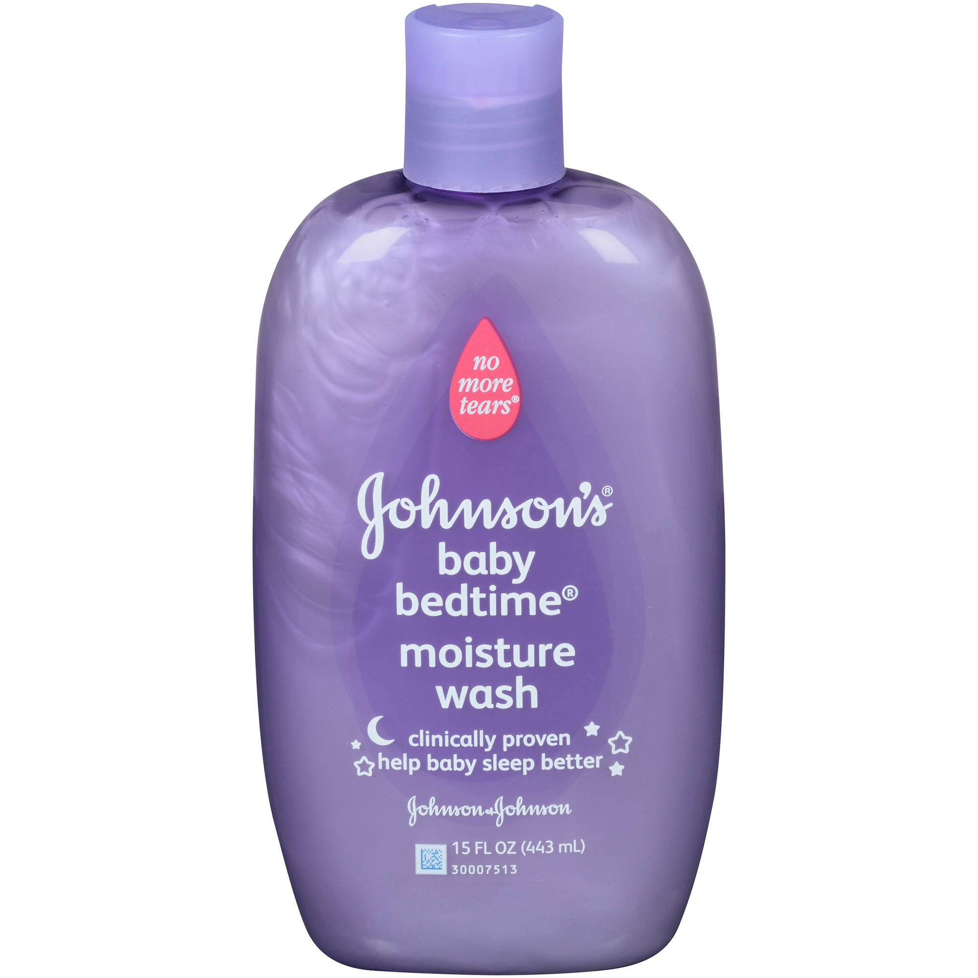 Johnson's Bedtime Moisture Wash, 15 Fl. Oz