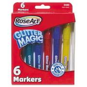 Roseart.  CYB78 Glitter Magic Markers, Assorted Colors