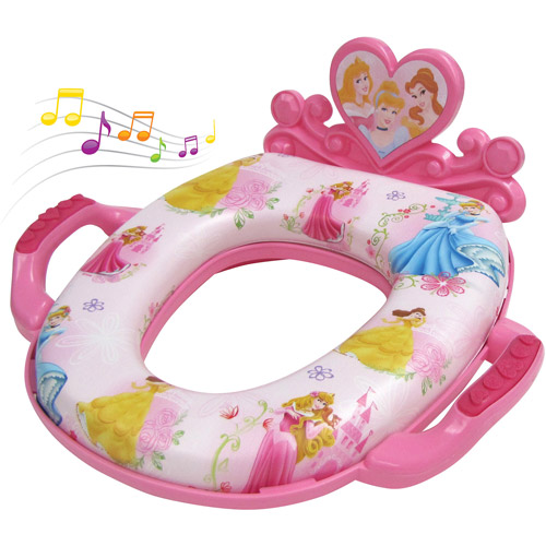Disney Princessess Deluxe Soft Potty Seat with Sound