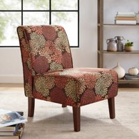 Linon Coco Accent Chair, Multiple Colors, 18 inch Seat Height