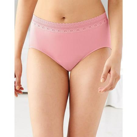 Bali Style Fish (Bali Women's Comfort Microfiber Panty, Style 803J )