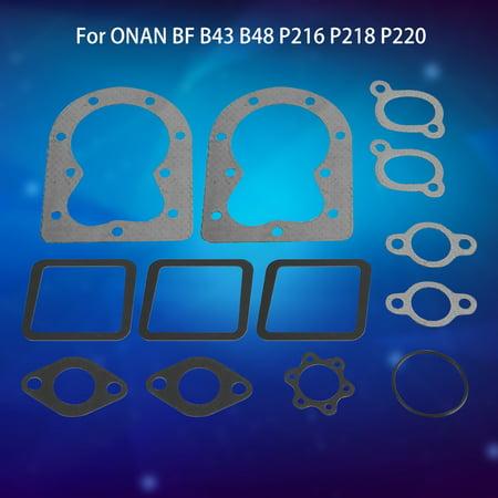 Knifun 13pcs Replacement Engine Gaskets Repair Kit Replaces for ONAN BF B43 B48 P216 P218 P220 , Replacement Engine Gasket Kit, Engine Repair - Engine Gift