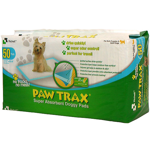 Richell PAW TRAX Training Pads, 50 count