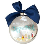 Story of Luke 2:9 Metallic Ornament