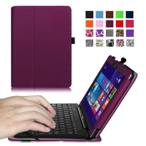 "Nextbook Flexx 10.1"" (NXW101QC232) Tablet Case - Fintie Slim Fit Folio Cover with Premium PU Leather, Purple"