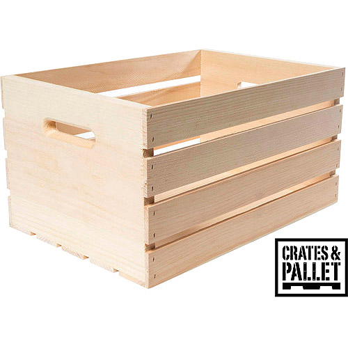 Crates and Pallet Large Wood Crate