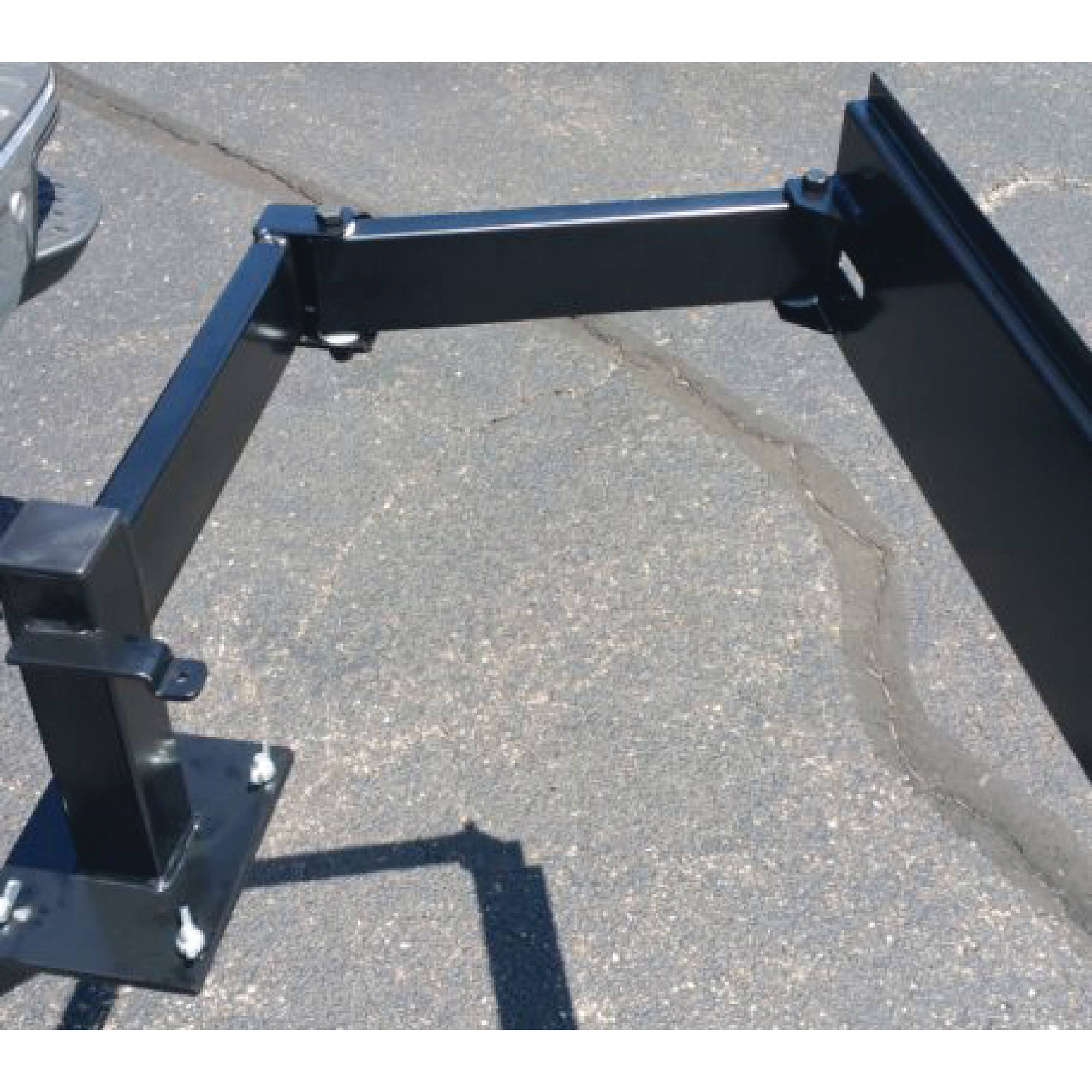 "Fleming Sales 12450 Tailgate 2"" Hitch Receiver Mount Assembly"