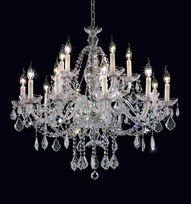 Elegant Lighting 7831G35C/RC Chandeliers Alexandria