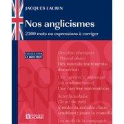 Nos anglicismes - eBook