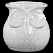 Urban Trends Ceramic Owl Flower Vase