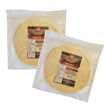 Great Low Carb Bread Company - 9? Low Carb Pizza Crust, 2 Net Carbs (2 (Mini Pizza D'halloween)