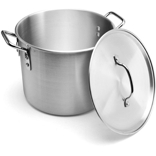 Pedrini Passione 12qt 0.85mm Non-Coated Aluminum Stock Pot