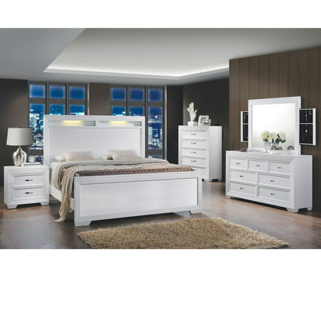Home Source Queen Bed/ Dresser/ Mirror/2 Nightstands/Chest