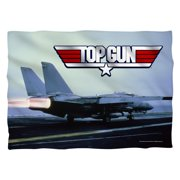 Top Gun Take Off (Front Back Print) Poly 20X28 Pillow Case White One Size