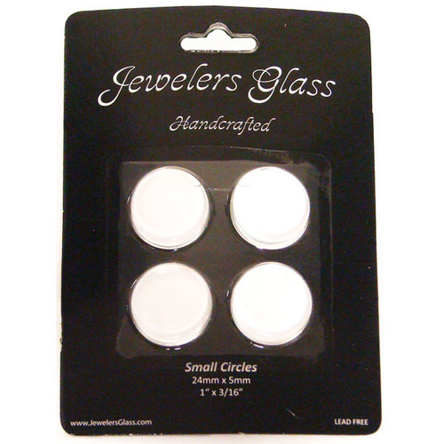 Wholesalers USA 4 Piece Small Circles Jeweler's Glass Set