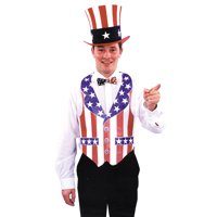 Morris Costumes Vest Fourth Of July Bar-Paper