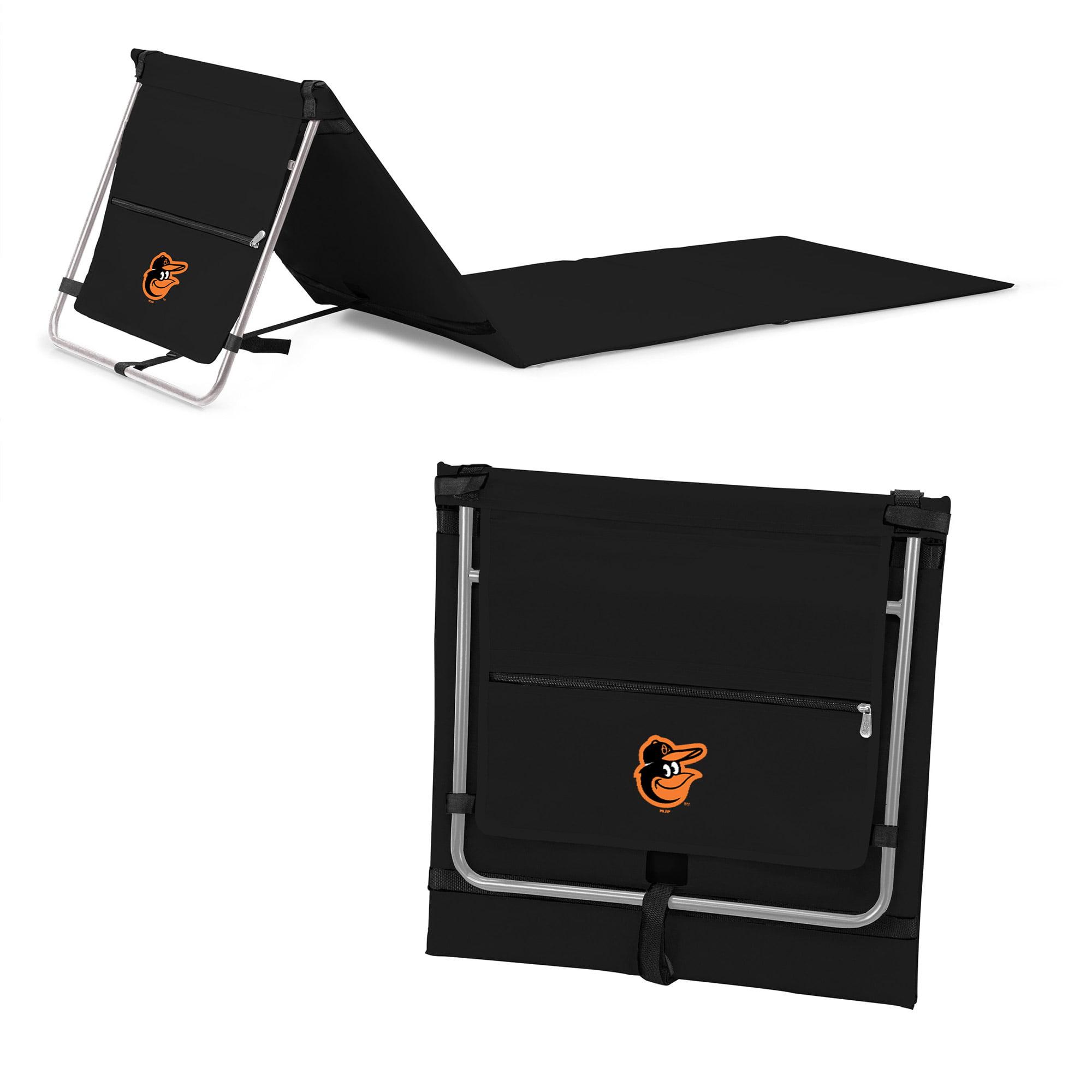 Baltimore Orioles Portable Lounger Beach Mat - Black - No Size