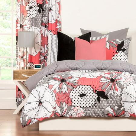 Flower Comforter Set (Crayola Flower PatchFull/Queen Comforter Set )