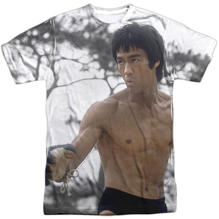 Bruce Lee Men's  Battle Ready Sublimation T-shirt - Bruce Lee Outfits