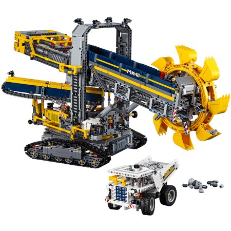 lego technic bucket wheel excavator 42055. Black Bedroom Furniture Sets. Home Design Ideas