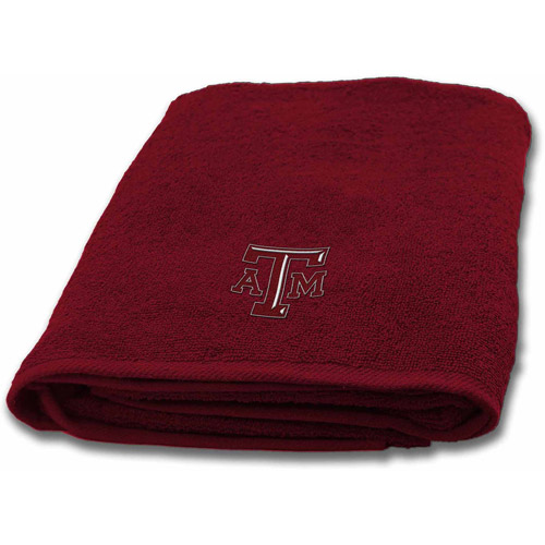 NCAA Applique Bath Towel, Texas A&M
