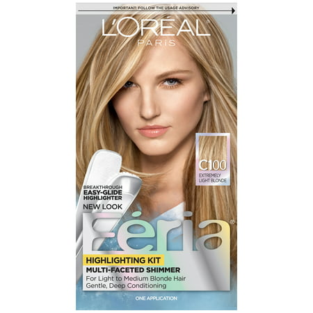 Faceted Shimmering Colour 3x Highlights (L'Oreal Paris Feria Multi-Faceted Shimmering Highlighting)
