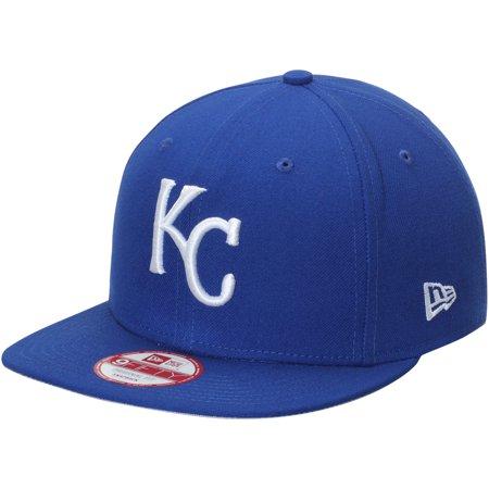 Kansas City Royals New Era Flag Stated 9FIFTY Adjustable Hat - Royal - OSFA