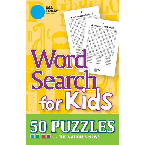 USA Today Word Search for Kids: 50 Puzzles from The Nation's News