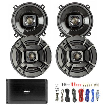 4x polk audio db522 300 watt 2 way speakers. Black Bedroom Furniture Sets. Home Design Ideas