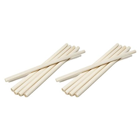 Darice 9162-00 Unfinished Natural Wood Craft Dowel Rod, 1/2-Inch (2 packs)