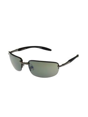 e6239762f8 Product Image Foster Grant Men S Gunmetal Rectangle Sunglasses Ii01