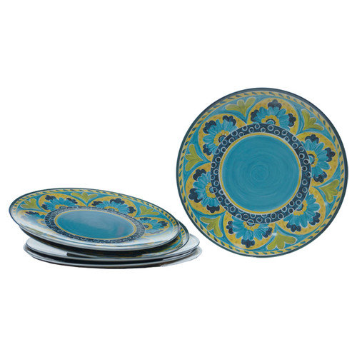 Certified International Mexican Tile 12'' Dinner Plate (Set of 6)