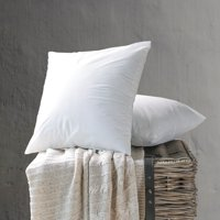 Phantoscope Decorative Throw Pillow Inserts, 18 x 18, 2 Pack