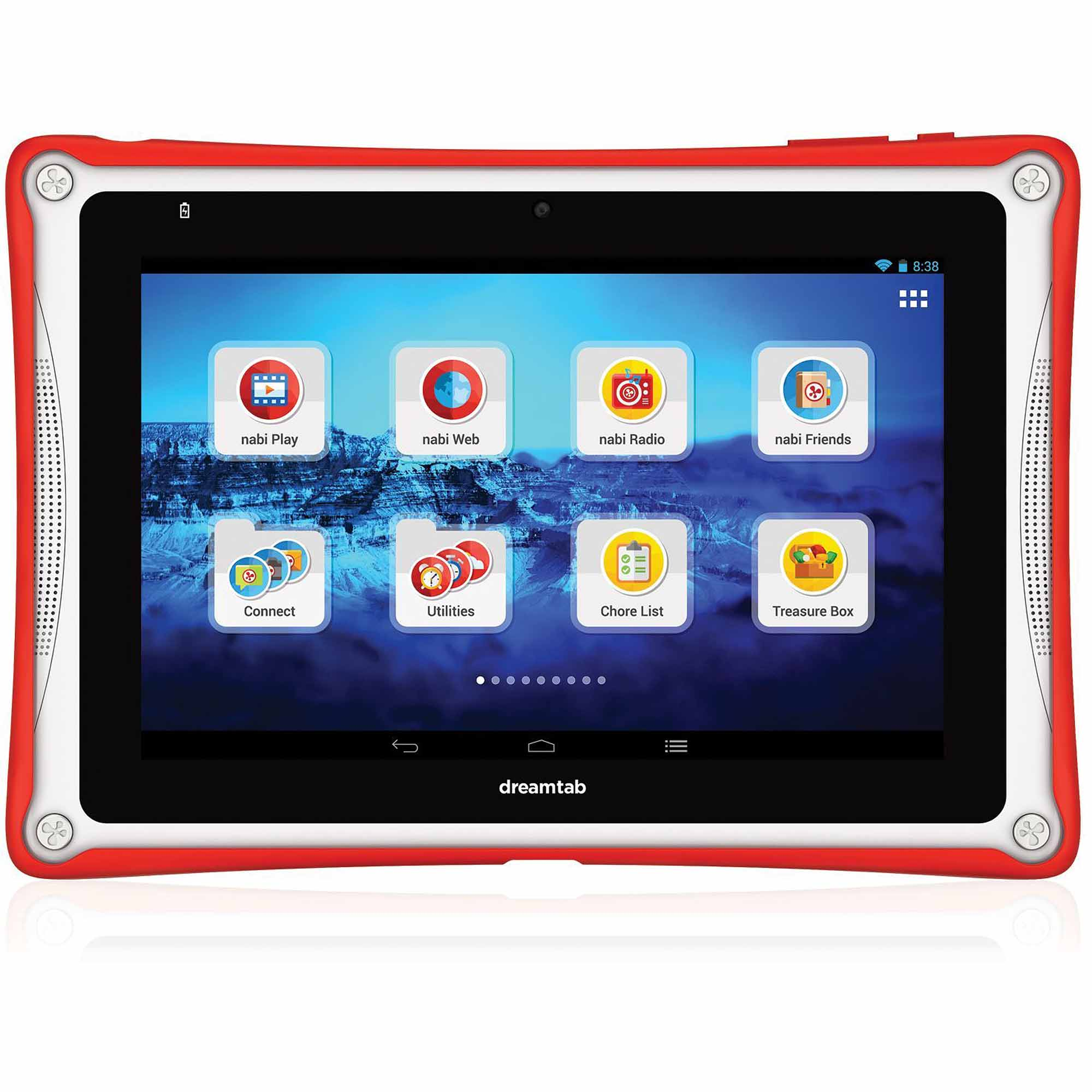 """nabi DreamTab HD8 with WiFi 8"""" Touchscreen Tablet PC"""