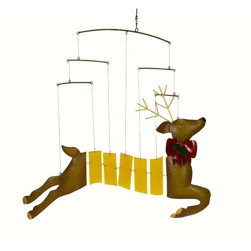 The Holiday Aisle Bullard Reindeer Mobile