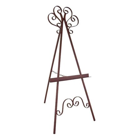 marseilles wrought iron picture display easel walmart com