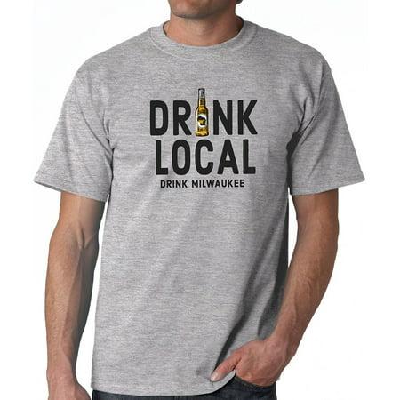J2 Sport Drink Local, Drink Milwaukee Unisex T-Shirt (Buy Local Tshirt)