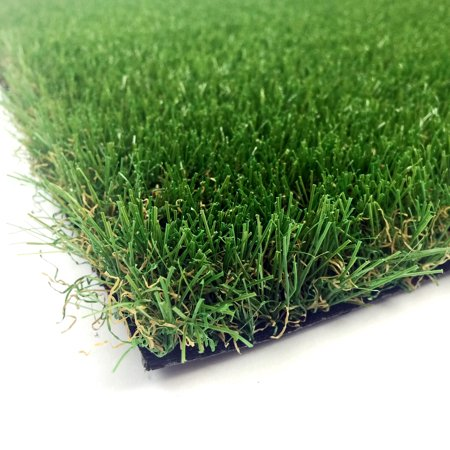 Image of AllGreen Chenille Deluxe Multi Purpose Artificial Grass Synthetic Turf Indoor/Outdoor Doormat/Area Rug Carpet 2' x 4' ft.