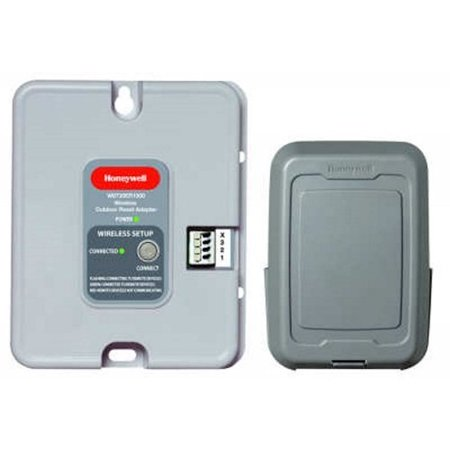 honeywell  w8735y1000 -wireless outdoor reset kit (Best Rated Wireless Alarm System)