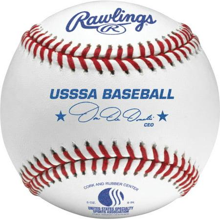 American League Official Baseball - Rawlings USSSA Competition Grade Baseballs (Dozen)