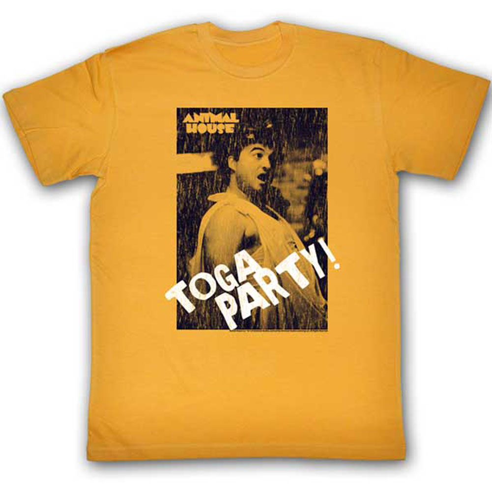 Animal House Men's  Toga PArty T-shirt Ginger
